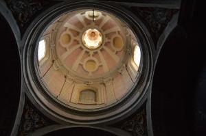 Looking up at Santa Maria