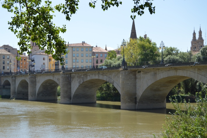 Bridge into Logrono