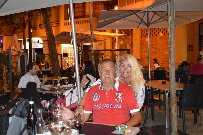 Dinner in Logrono