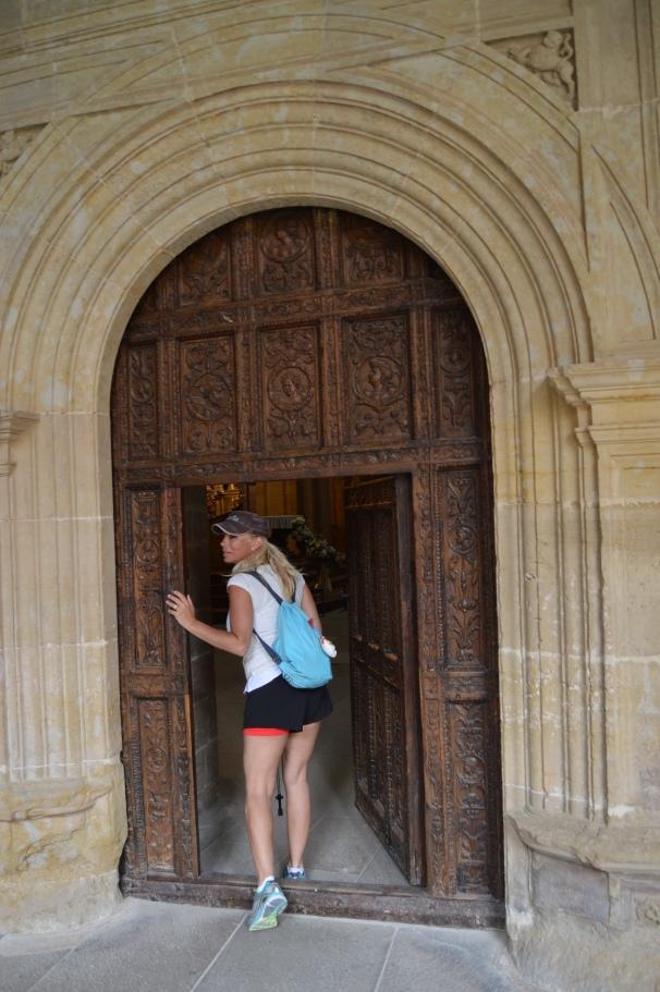 Entering the Monastery