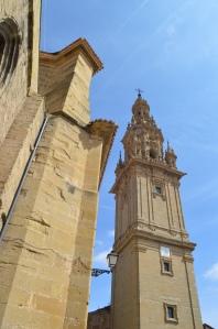 Catedral de Santo Domingo de la Cazada. Home of the chicken