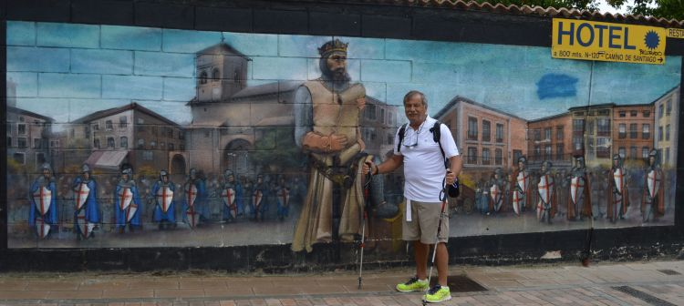 Two brave men in Belorado