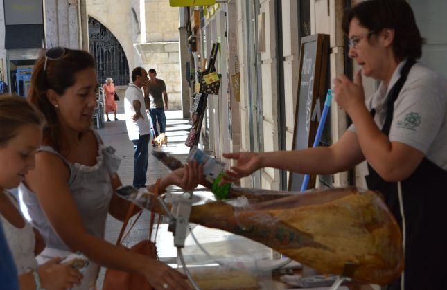 Carving jamon--Burgos