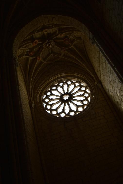 The window that triggered Jackie's emotions - Iglesia de la Virgen Blanca