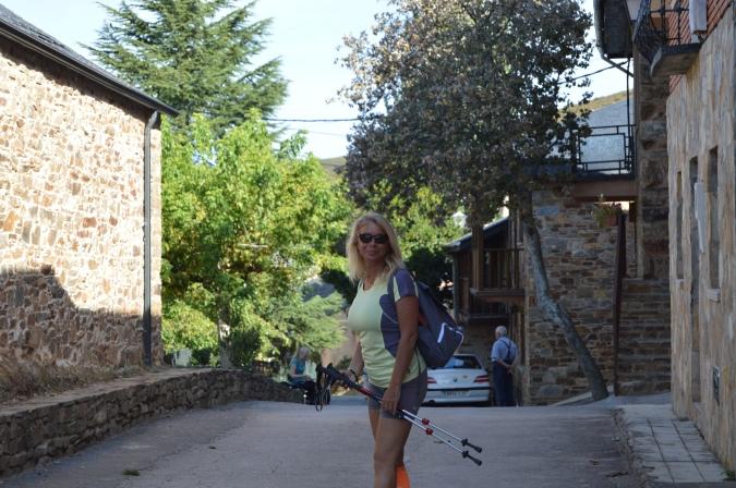 Hitting the trail at El Acebo
