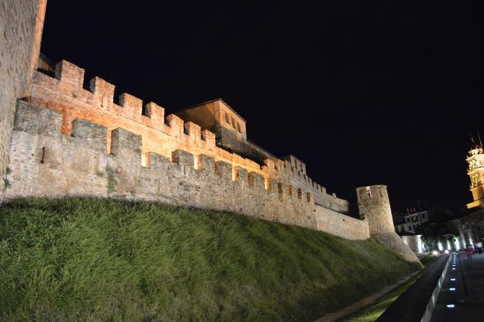 Knights Templar castle Ponferrada