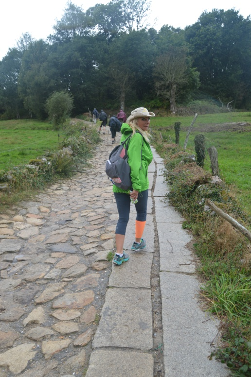 Walking the old Roman road